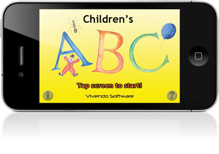 Children's ABC on the iPhone 4